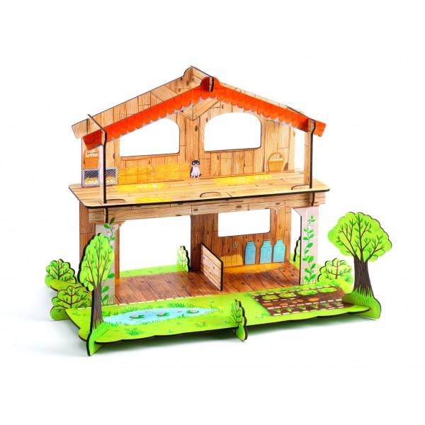 Farma 3D - Djeco