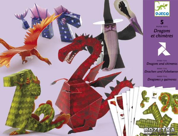 Origami - Djeco - Skládačka Draci