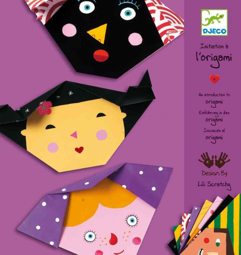 Origami - Djeco - Obličeje