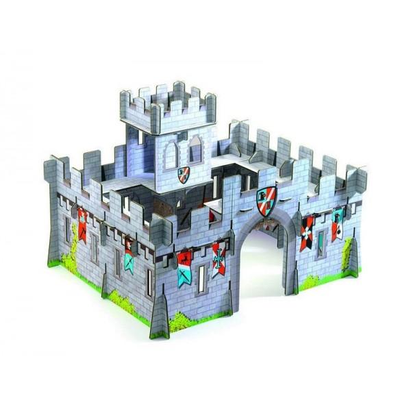 Rytířský hrad 3D - Djeco